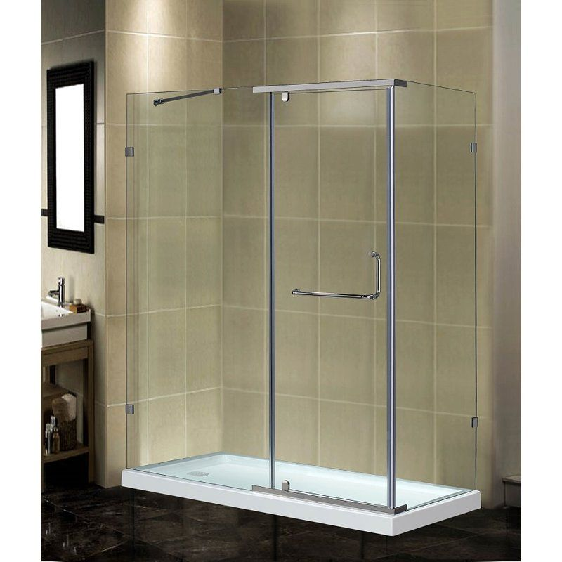 48 X 77 5 Rectangle Hinged Shower Enclosure Rectangular Shower