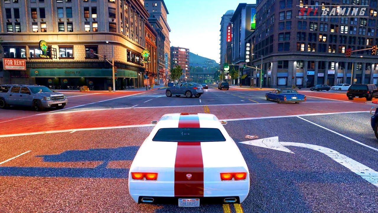 GTA 6 Best Graphics 2019 ✪ GEFORCE RTX 2080 Ti 60FPS Next-Gen Real