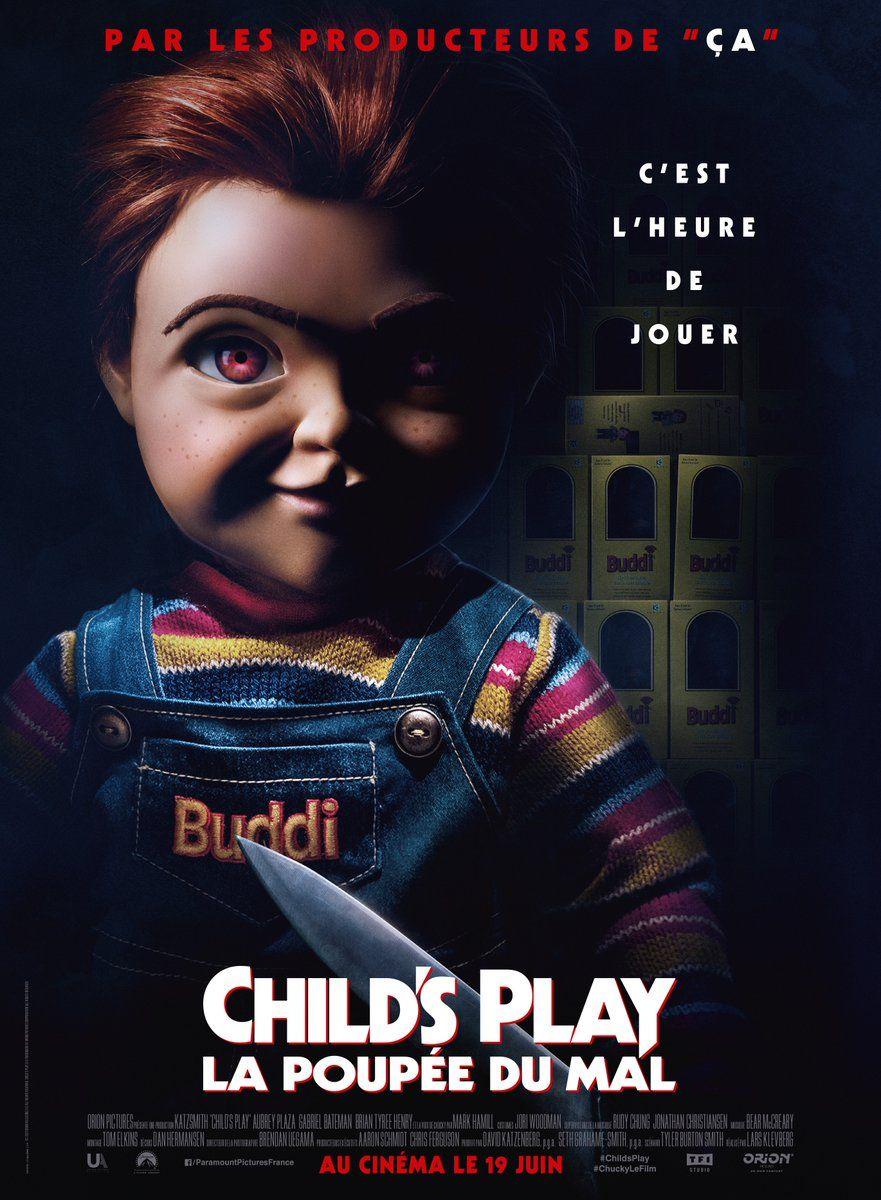Child S Play New Film Poster Https Teaser Trailer Com Movie Childs Play Childsplay Childsplaymovie Ch Child S Play Movie New Movie Posters New Movies