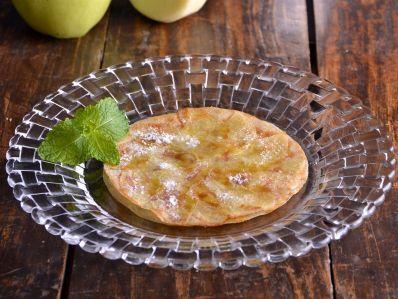 Tarta de manzana extrafina