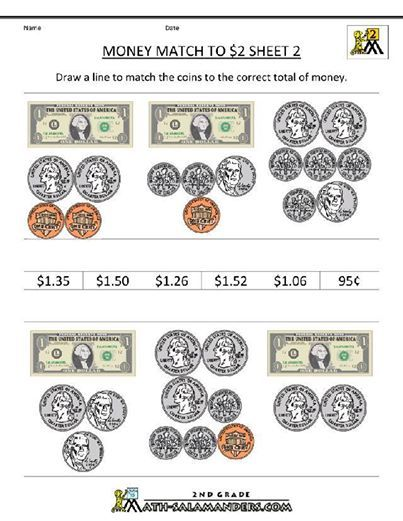 Photo: FREE: COUNTING MONEY WORKSHEET GENERATOR----CLICK LINK ...