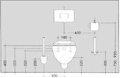 Montage nach Maß | Wc-design, Badezimmer planen ...