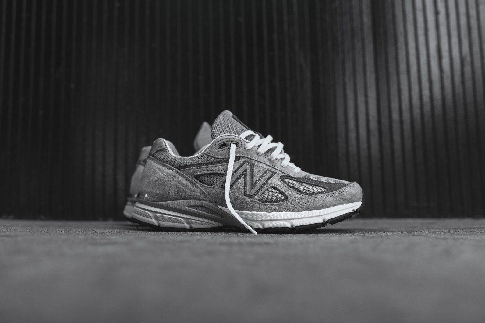 New Balance M990v4 - Grey / White | New