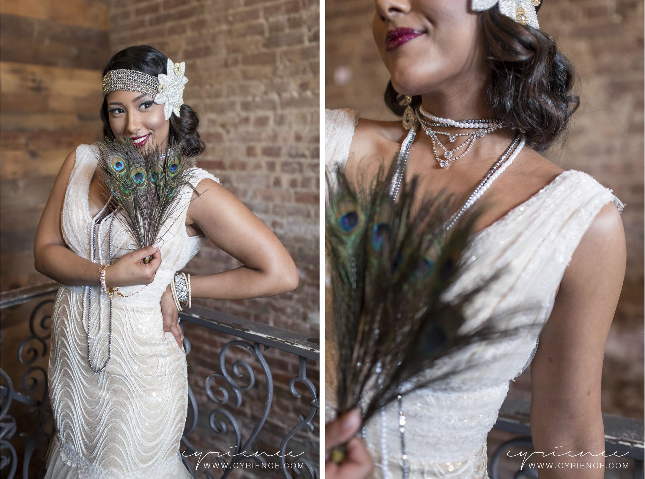 harlem renaissance inspired wedding shoot featured on blackbride