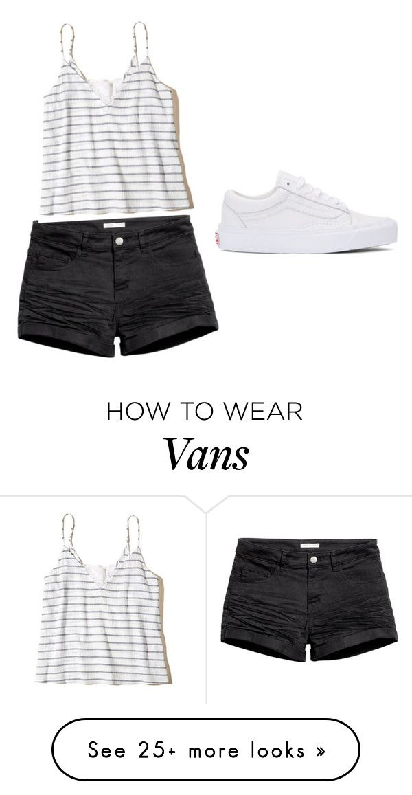 """Untitled #42"" by anna-straz on Polyvore featuring H&M, Vans and Hollister Co."