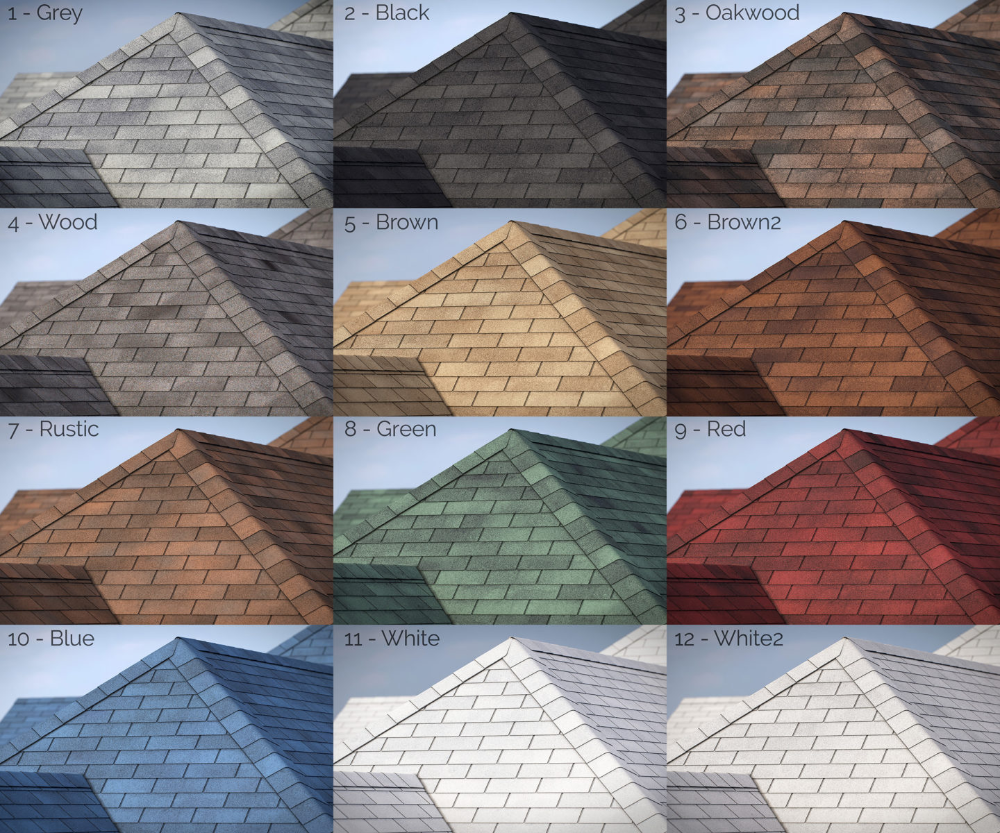 Best 3 Tab Asphalt Roof Shingles For Railclone In 2020 400 x 300