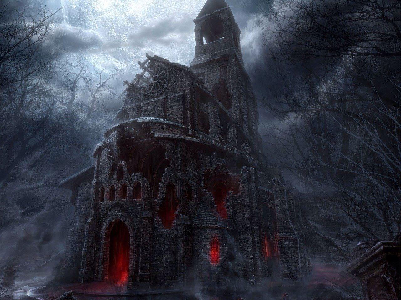 Terror Fondo De Pantalla Gótico Castillos Encantados Castillo Oscuro