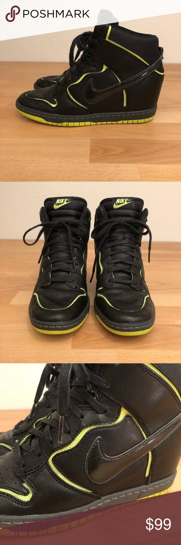 I just added this listing on Poshmark: Nike Dunk Sky Hi Wedge. #shopmycloset