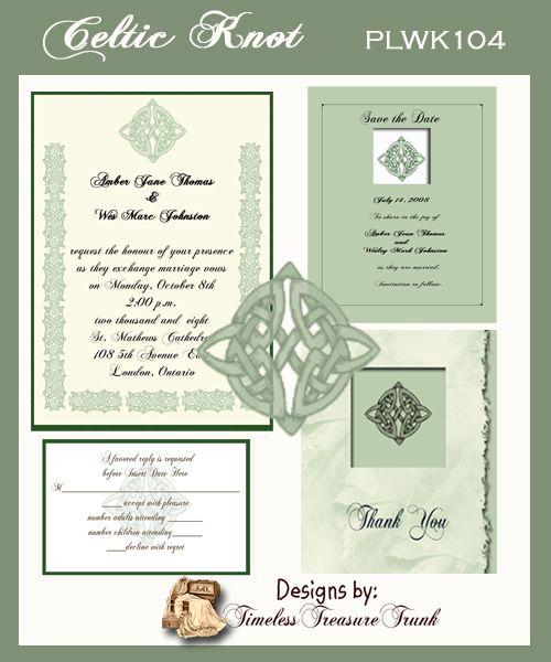 celtic wedding ideas wedding invitations wedding favors wedding centerpieces wedding - Celtic Wedding Invitations
