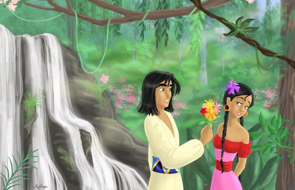 Jungle Book Romance, Mowgli and Shanti | Jungle book