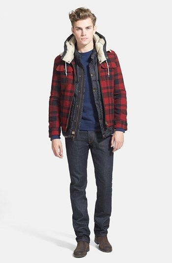 Scotch & Soda Jacket - Love this wool lumberjack jacket