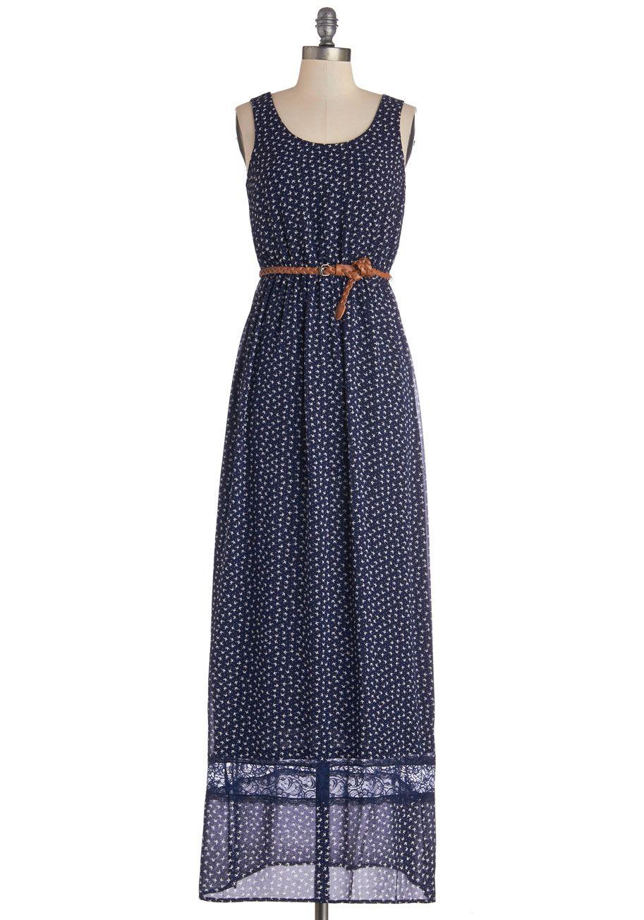 Star of the Start-Up Knit A-Line Dress | ModCloth, Polka dot print ...