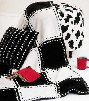 Soft & Cozy Fleece Pillow & Throw