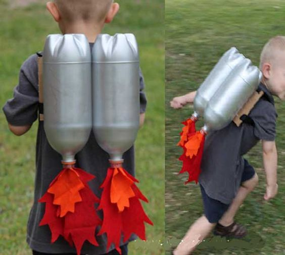 Kids' Crafts with Recycled Materials #recycledcrafts