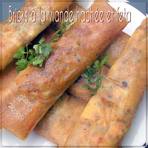 La Cuisine De Djouza: Brick à La Viande Hachée (fromage Feta)