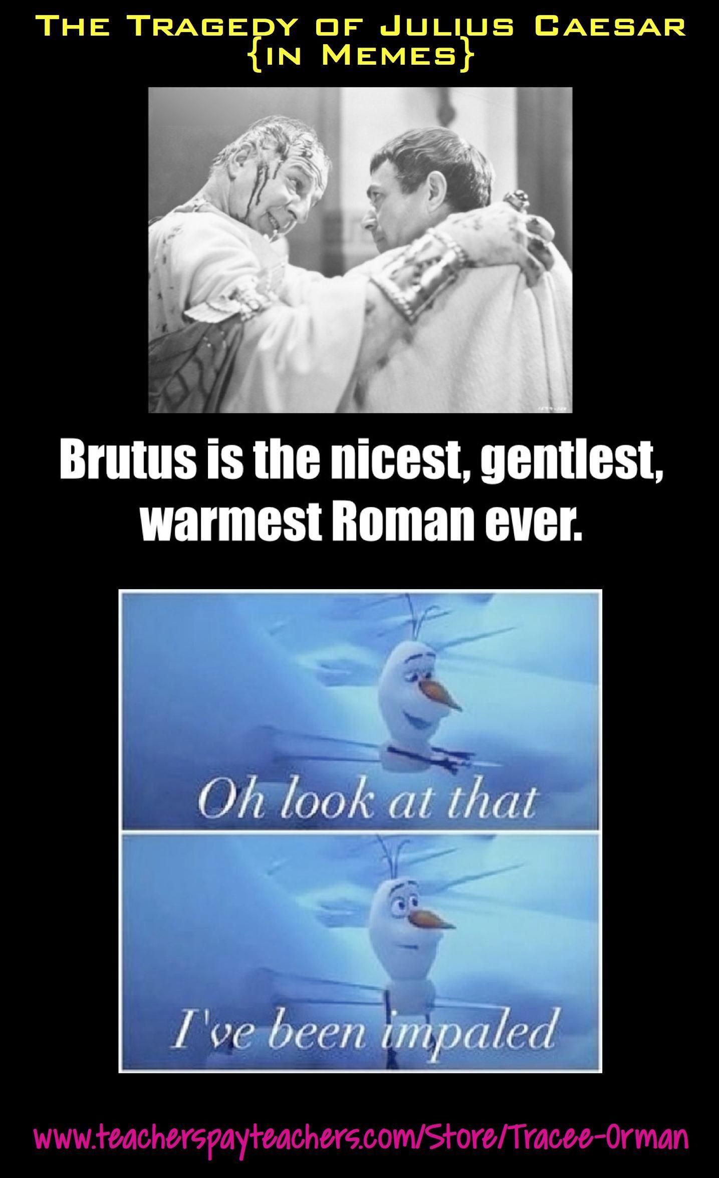 Shakespeare In Memes Tragedy Of Julius Caesar