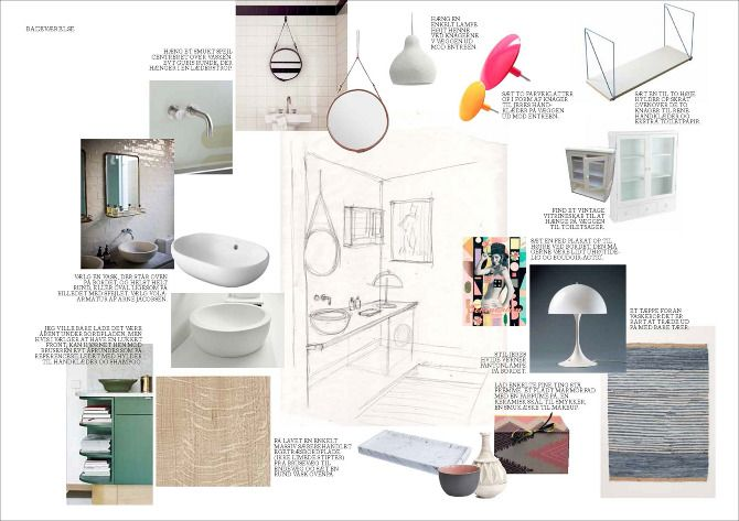 How To Make A Mood Board For Interior 2 Con Immagini