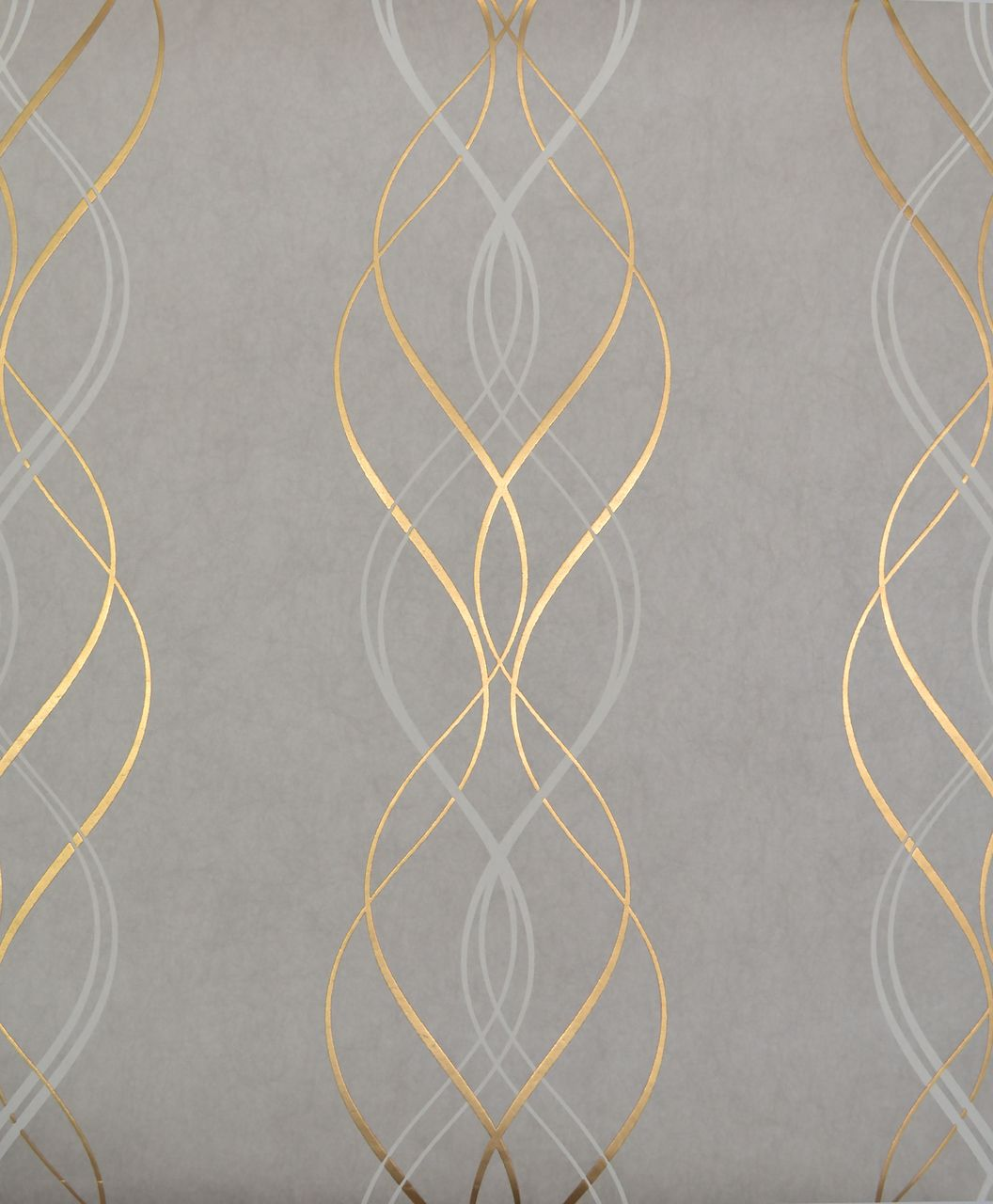 York Wallcoverings NW3550 Modern Metals Aurora Wallpaper