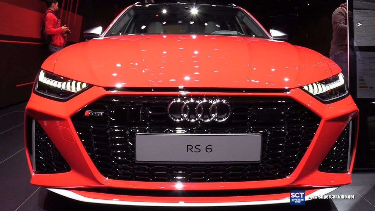 2020 Audi Rs6 Avant Exterior Interior Walkaround Debut 2019 Iaa Fra Audi Rs6 Best New Cars Europe Car