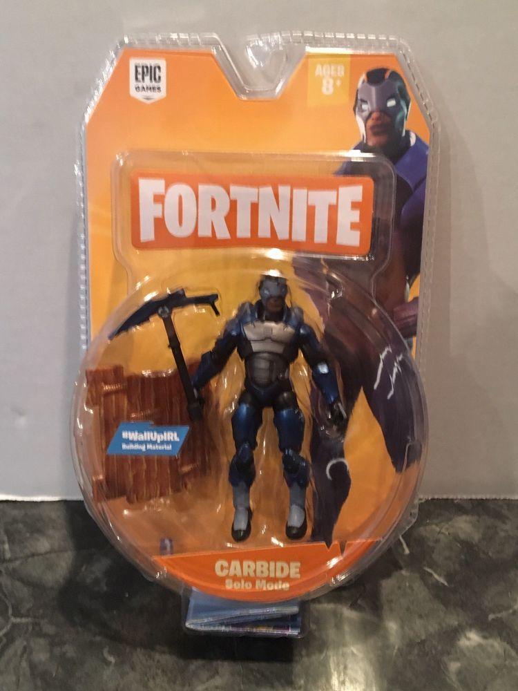"""Fortnite Carbide Solo Mode 4/"""" Figure Brand New!"""