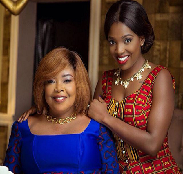 Beautiful Photos of Actress Annie Idibia and Her Mum