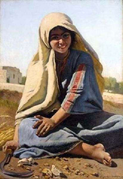 Jeune fille de Bethlehem