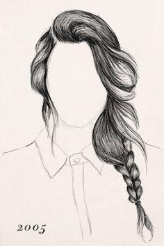 Resultado De Imagen Para Easy Drawing Girls With Braids