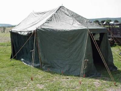 Tents & The Command Post tent M-1945 features a traditional tactical pole ...