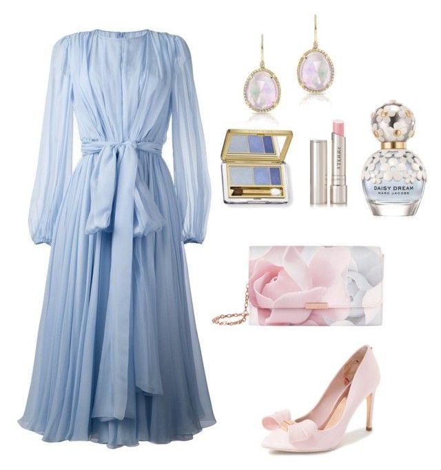 """""""Pastel Perfect"""" by thymetorelax on Polyvore featuring Dolce&Gabbana, Ted Baker, Anne Sisteron, Estée Lauder, By Terry and Marc Jacobs"""