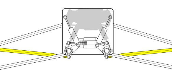 Ferrari 2012 pull-rod suspension  Diagram shows how springs