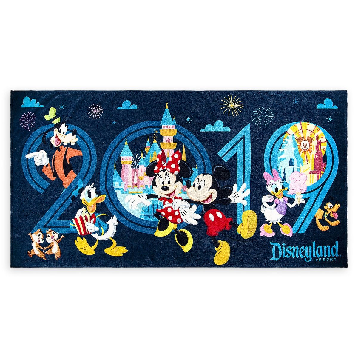 Mickey Mouse And Friends Beach Towel Disneyland 2019 Mickey