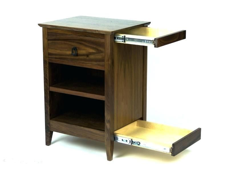 Woodworking Hidden Compartment Nightstand Remarkable Diy