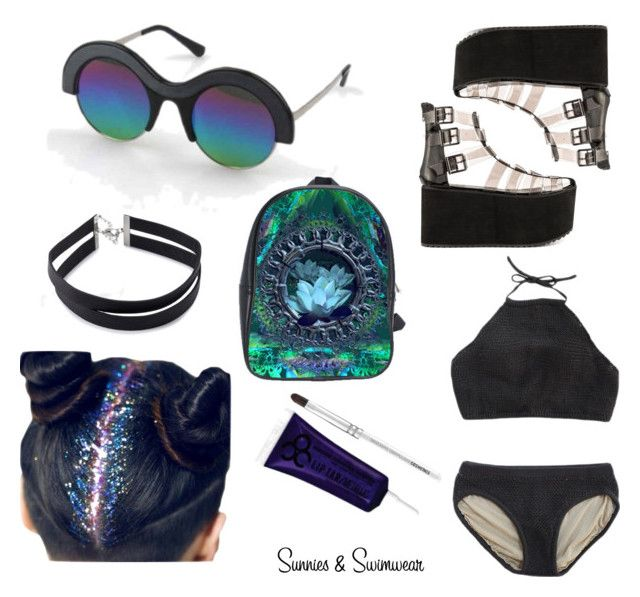 """""""☁☀Sunnies & Swimwear☀☁"""" by mydogisgod ❤ liked on Polyvore featuring Y.R.U., Forever 21, women's clothing, women, female, woman, misses, juniors and sunniesandswimwear"""
