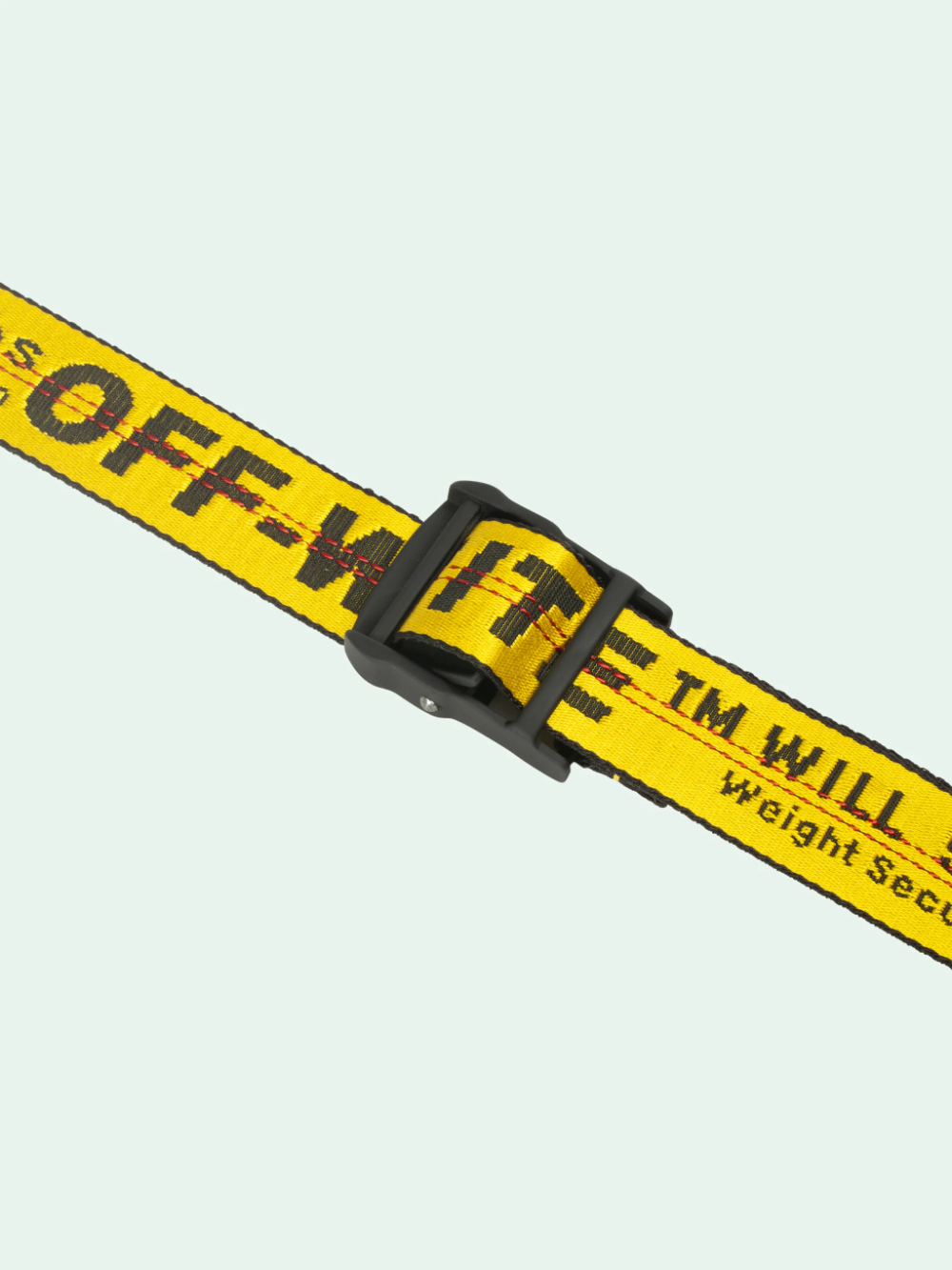 Yellow Industrial Belt Off White Official Website Off White Belt White Belt Yellow Accessories