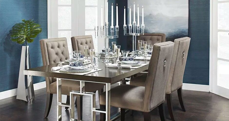 Z Gallerie Rylan Table And Maxwell Chairs Dining Table Design Table Design Dining Table