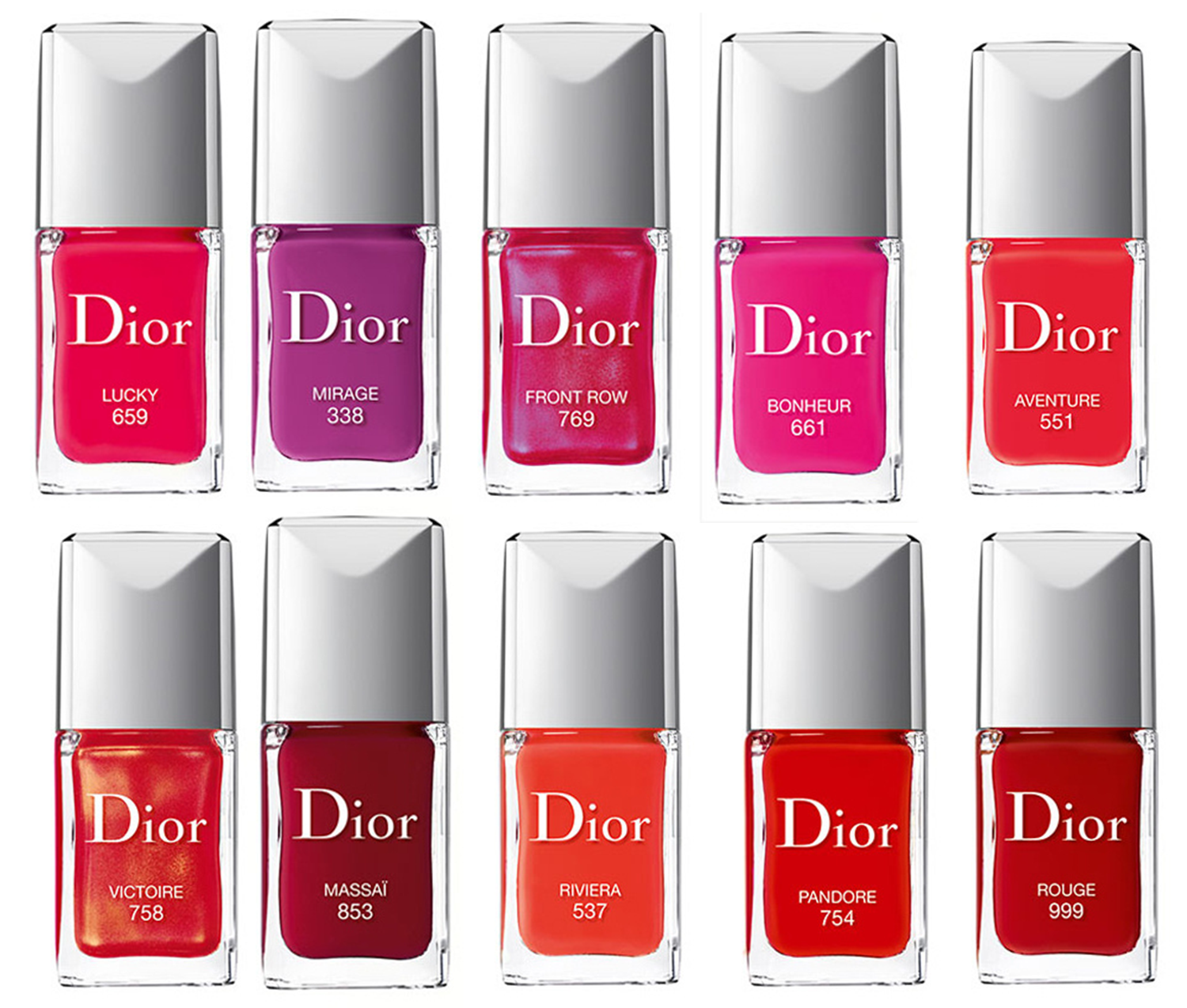 Dior Vernis Launches 2014 Red Pink | Nail Trends | Pinterest