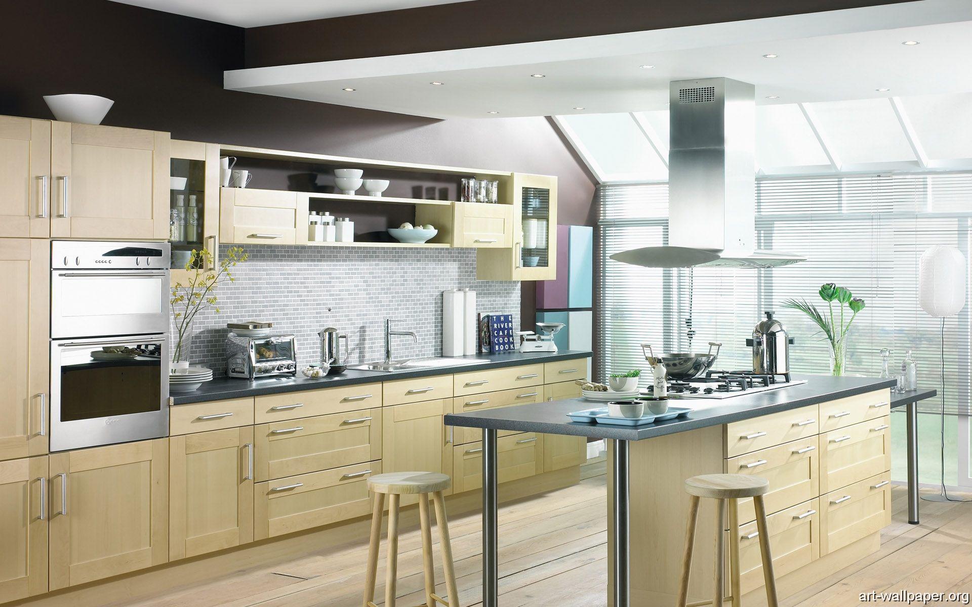 Modern Kitchen Background HD | Cool Wallpapers | Pinterest