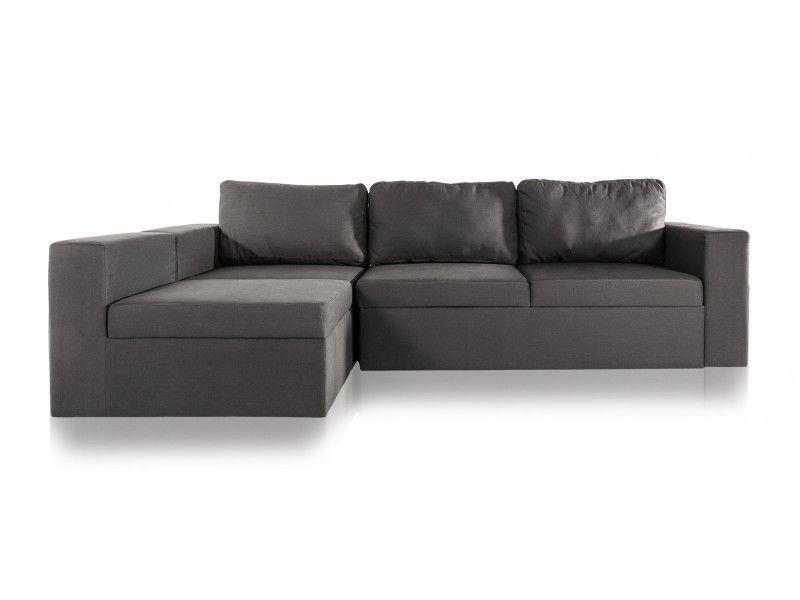 1290 Sectional Dark Grey Fabric Sofas Length 106 Height 28 Width
