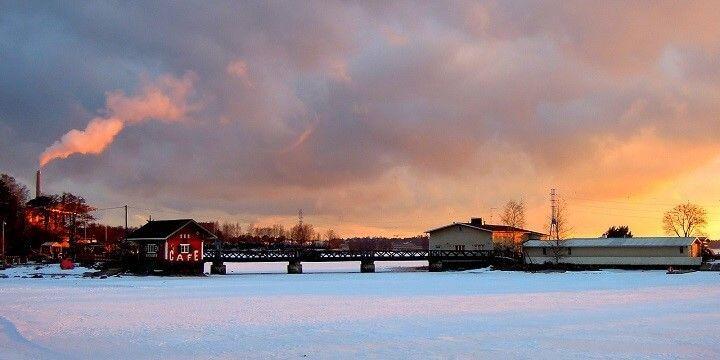 Helsinki in winter, Uusimaa, Finland