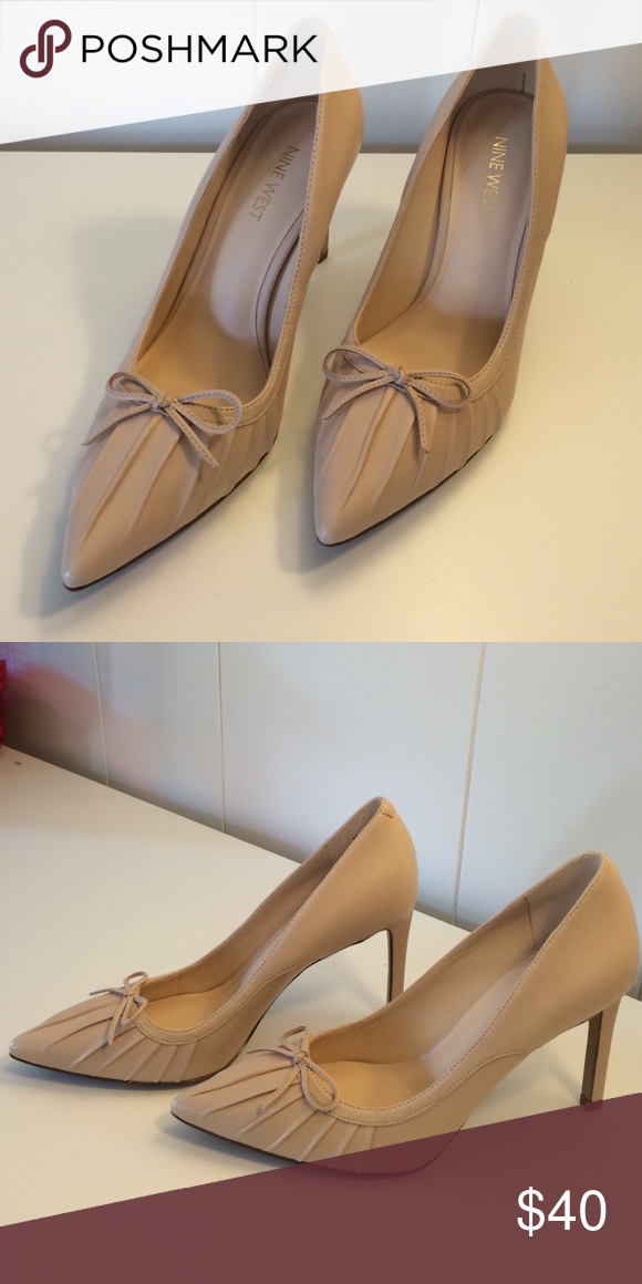 Nine West beige heels 6.5 Nine West beige heels 6.5. New and never worn! Nine West Shoes Heels