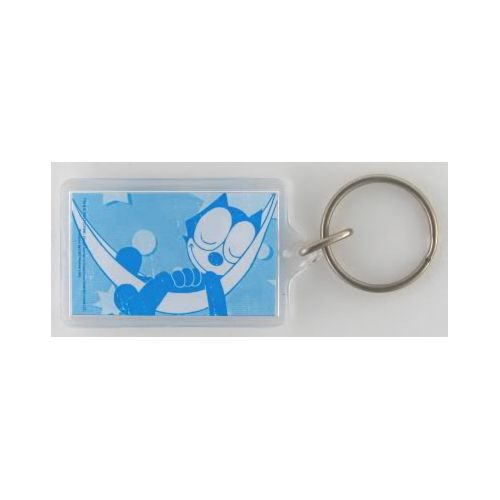 Felix the Cat 'Sleeping' Lucite Key Chain