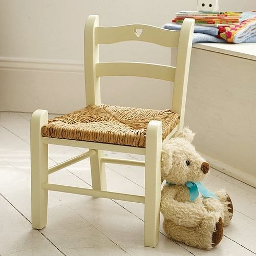 This Cute Little Childu0027s Chair With A Cut Out Heart Motif By Rose U0026 Grey