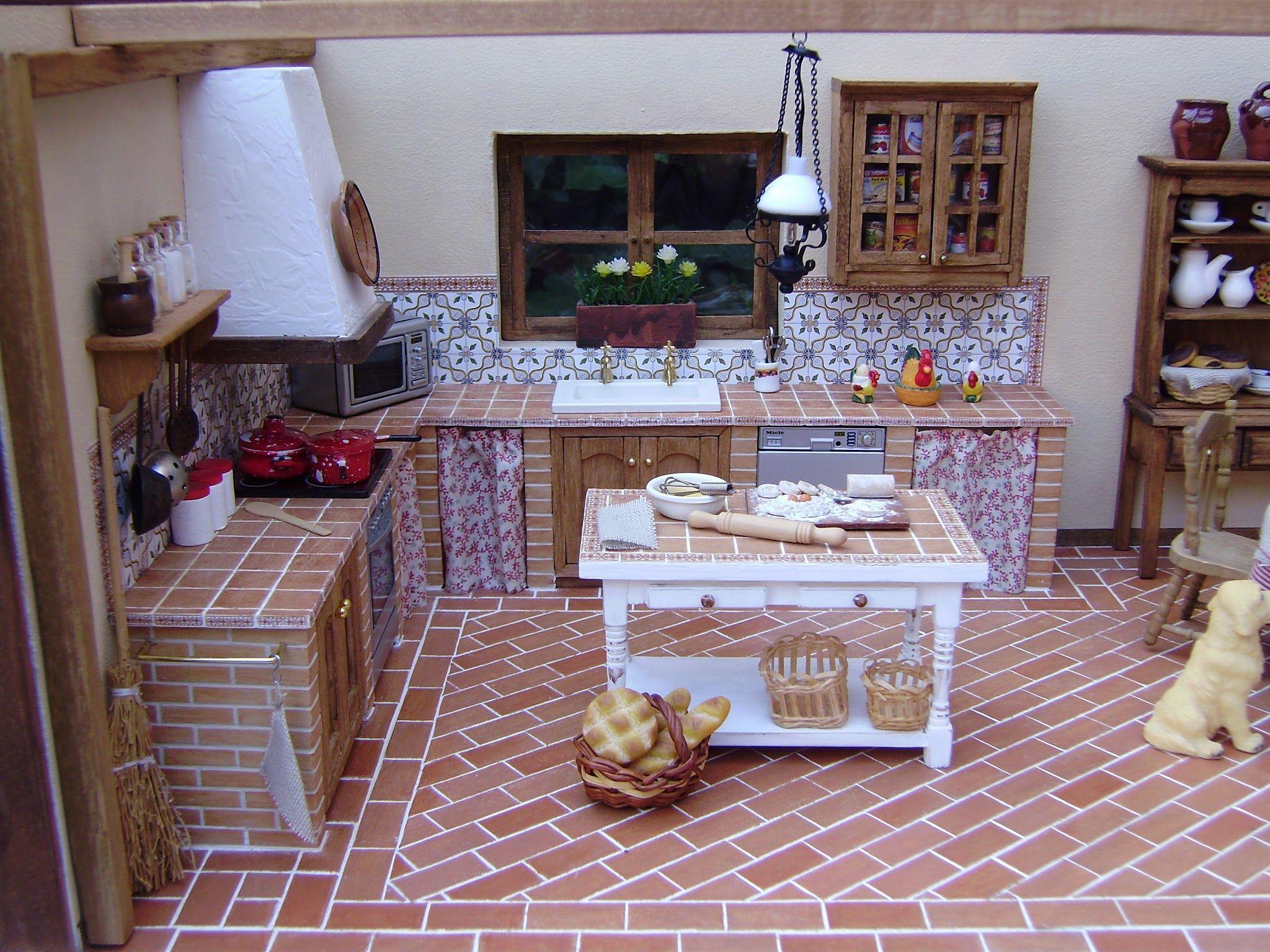 Cortinas De Cocina Rusticas #3 #cocinasrusticasladrillo   Reformas ...