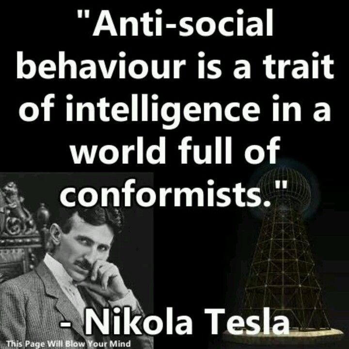 Tesla For The Win Famous Intj People Intp Qoutes Antisocial