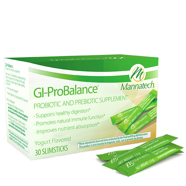GI-ProBalance™ - Variety of probiotic bacteria to maintain healthy digestion