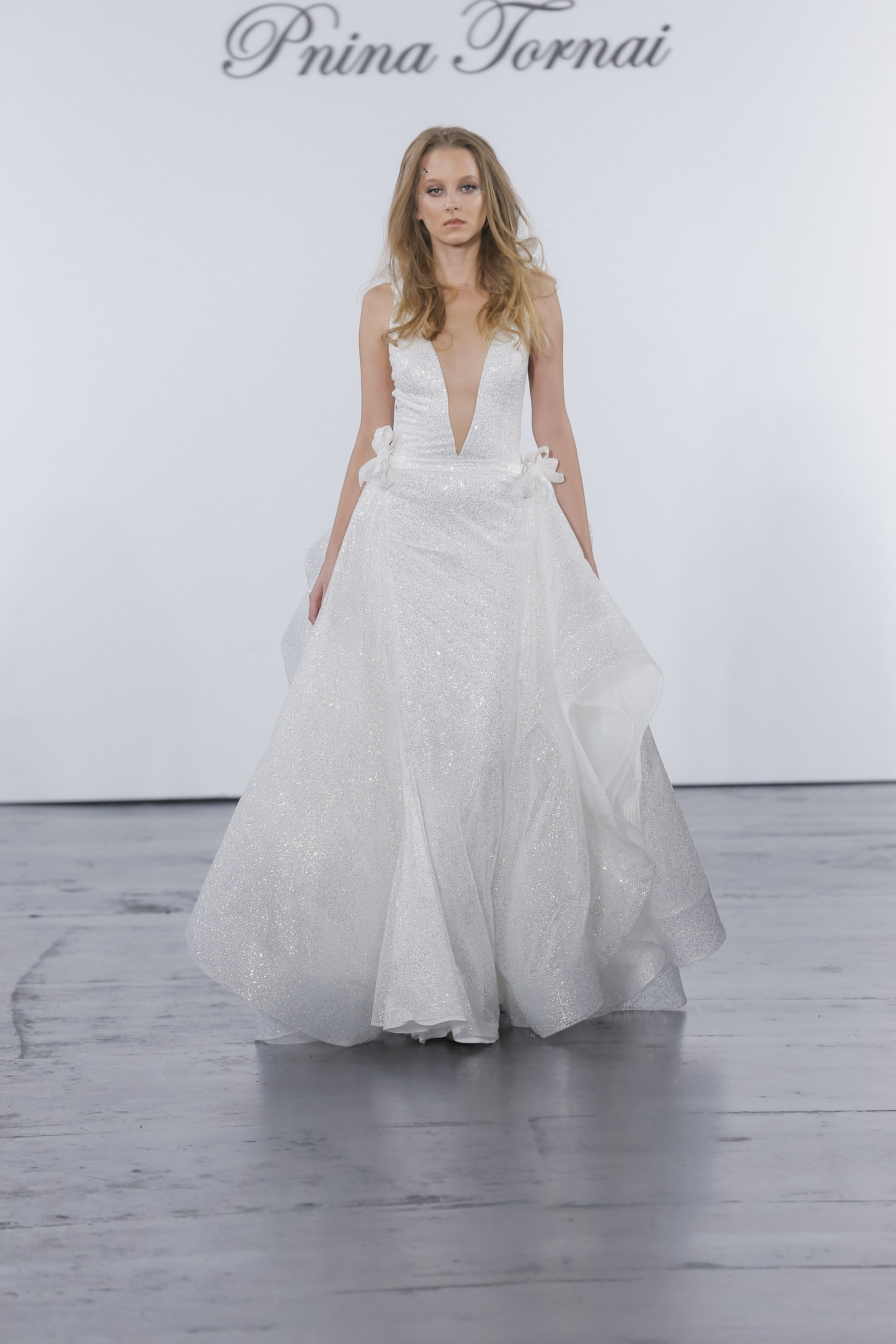 Pnina tornai for kleinfeld bridal u wedding dress collection fall