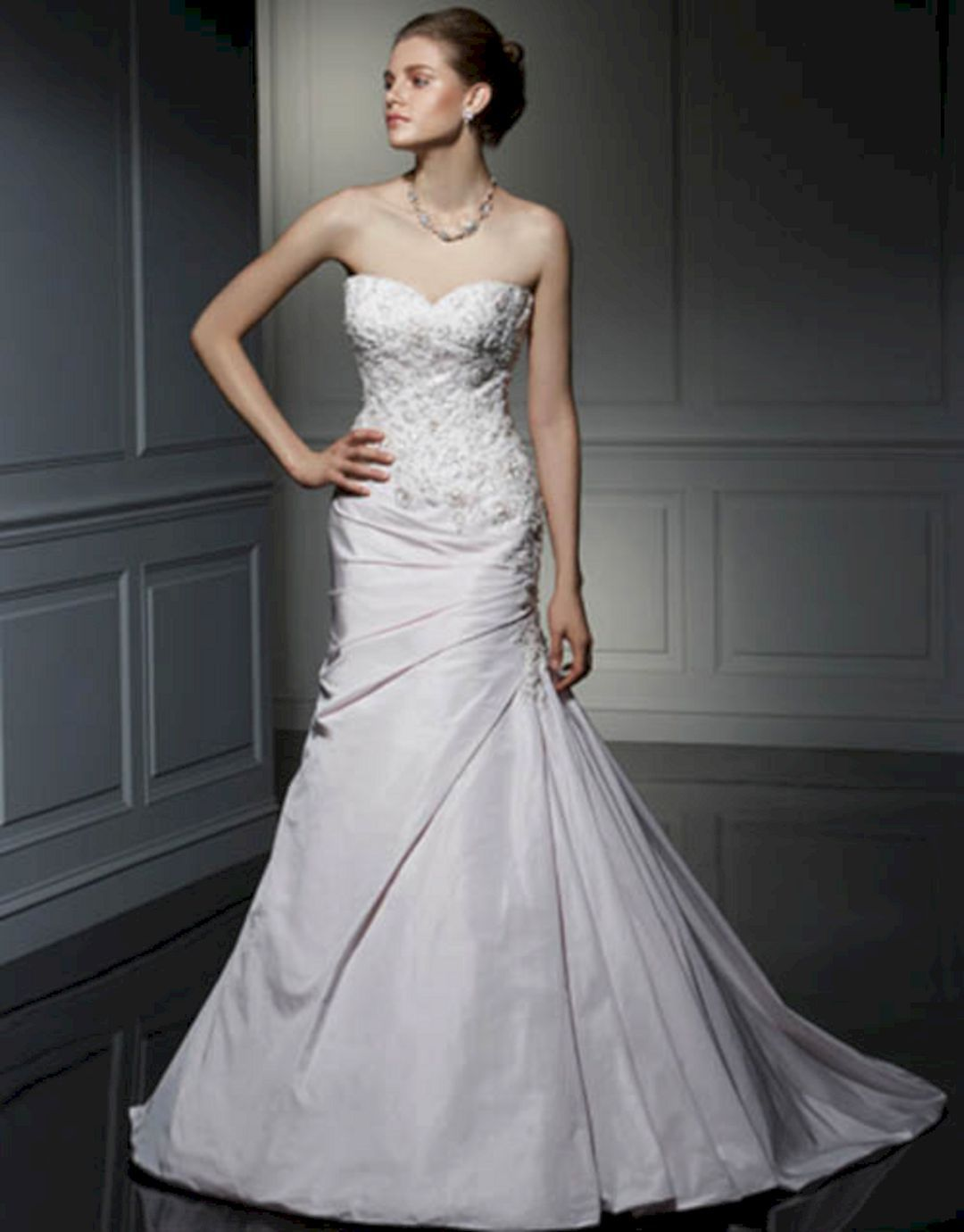 Cheap wedding dresses under 50   Most Beautiful Strapless Wedding Dresses Ideas  Strapless