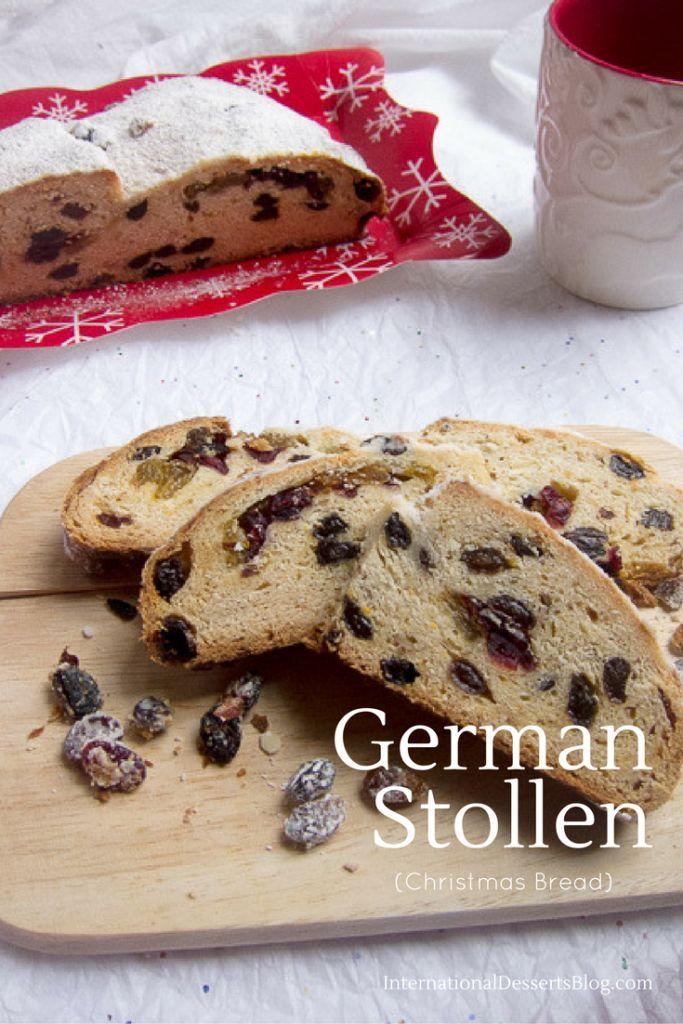 German Christmas Bread (Easy Stollen Recipe German Recipes