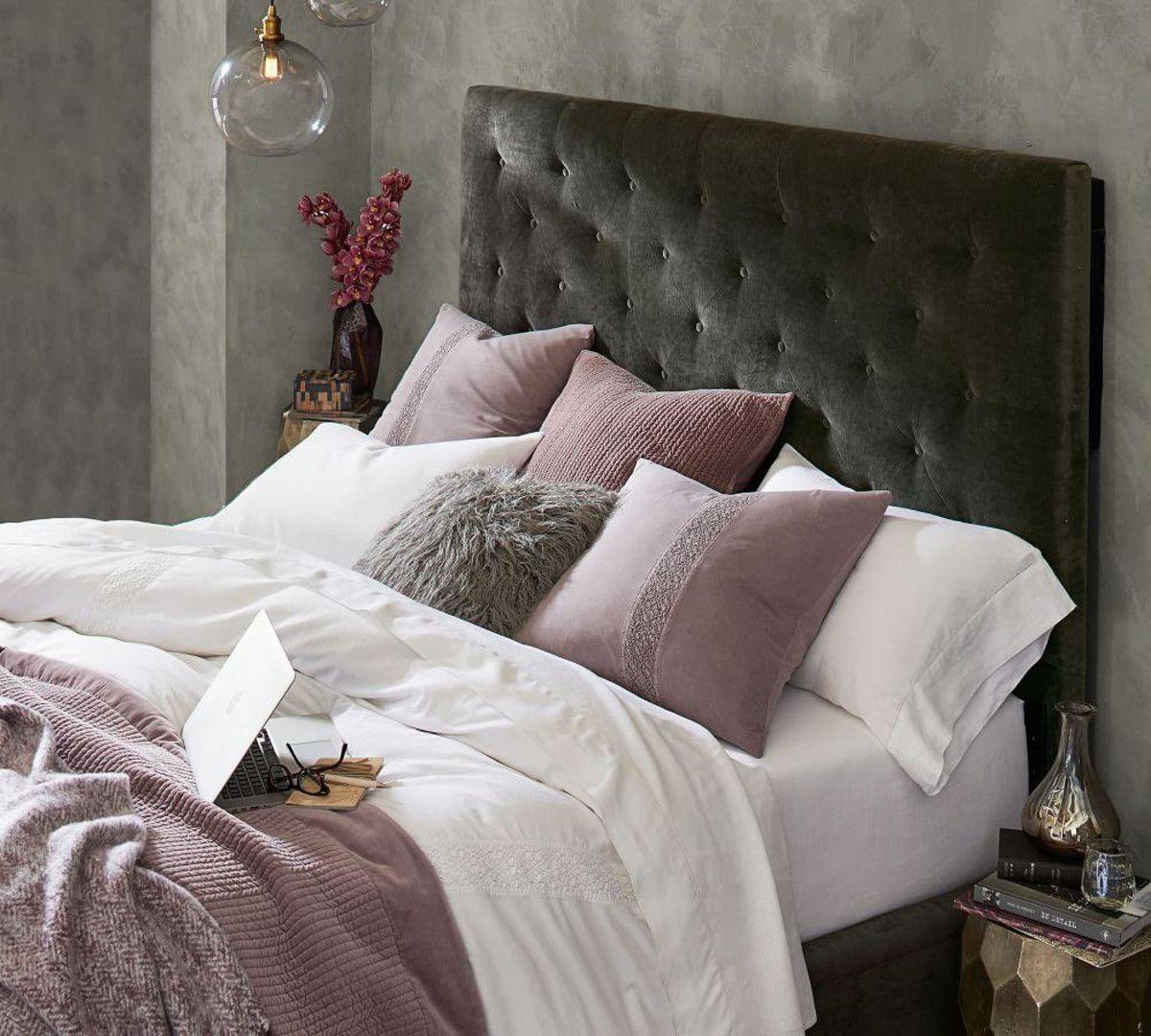 Lorraine Tufted Tall Bed Headboard Tall Bed Headboards