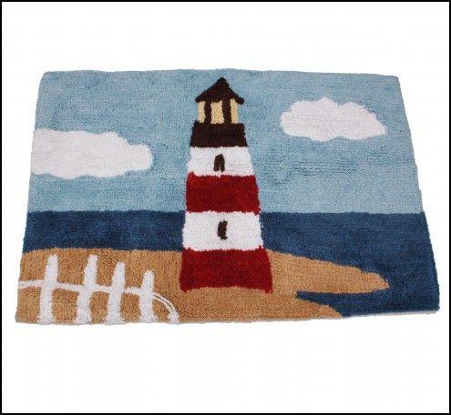 Lighthouse Bathroom Rugs